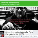 """oigoi79tno8hlihbjn 150x150 - SZOOK! """"Ostatnia puszka Adamowicza dla WOŚP"""" na FB zamiast 1000 zł zebrano niemal 16 milionów zł!!! REKORD!"""