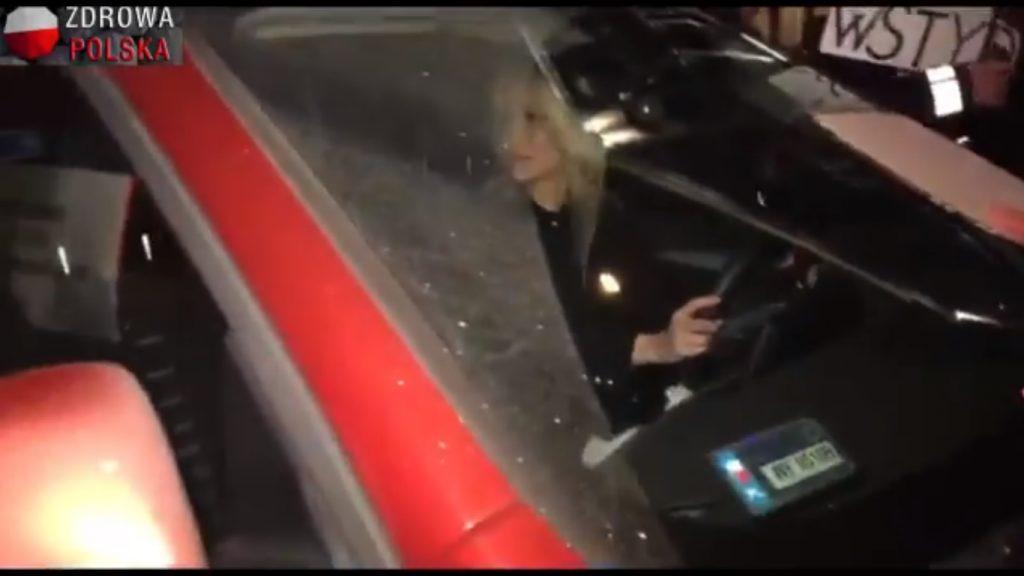 Bez tytułubheax hsae 1024x576 - Nocny atak na Magdalenę Ogórek! Otoczyli auto, krzyczeli, obrażali. Interweniowała Policja! [MAMY VIDEO]
