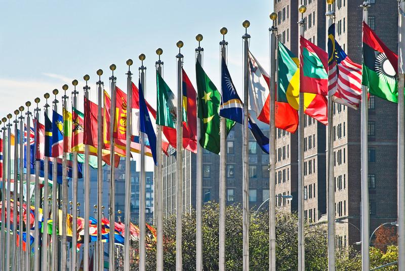 ONZ flagi - NASZA SONDA: Jakie kraje są najbardziej wrogie Polsce? Oddaj swój głos!