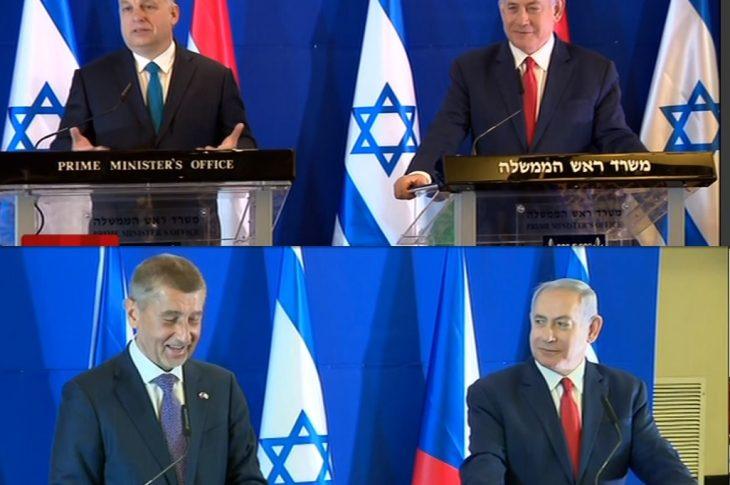 ergsgxd 730x485 - Premier Izraela Netanjahu w dobrym humorze. Premierzy V4 polecieli do Izraela, na pytania o Polskę odpowiadali z uśmiechem