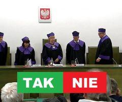 poparcie dla reformy sądów przez PIS