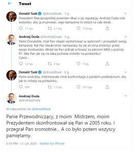 cykor duda tusk riposta 268x300 - Co przemilczały media... czyli co odpowiedział Andrzej Duda na zaczepkę Donalda Tuska?